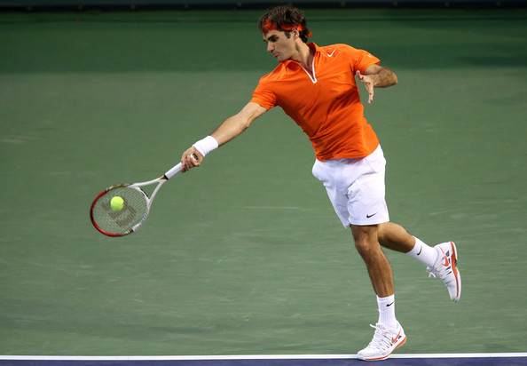 Roger Federer - 2013 BNP Paribas Open: Day 8