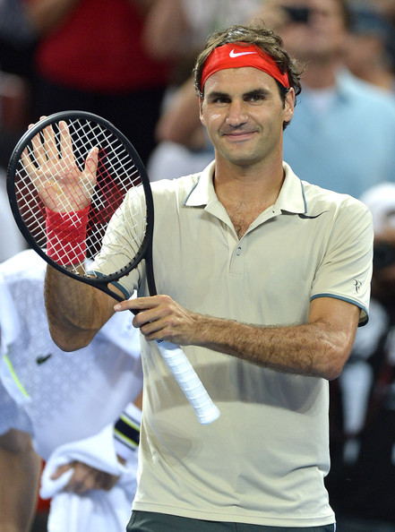 Roger+Federer+2014+Brisbane+Internationa