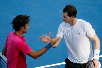 Roger Federer Andy Murray Western & Southern Open - Day 8