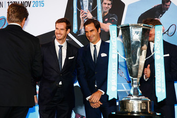 Roger Federer Andy Murray Barclays ATP World Tour Finals Draw