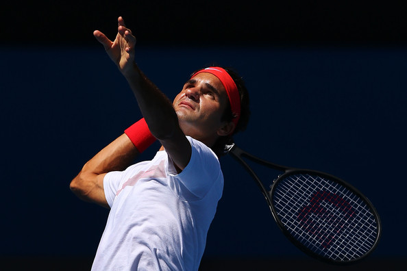 Roger+Federer+Australian+Open+Previews+q