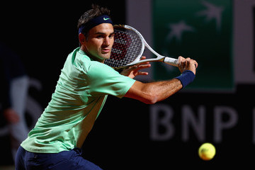 Roger Federer The Internazionali BNL d'Italia: Day 6