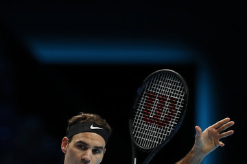 Roger Federer Day One - Nitto ATP World Tour Finals
