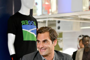 Roger Federer Launches New Uniqlo LifeWear Collection At Uniqlo NYC Flagship With Appearance And Intimate Conversation
