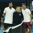 Roger Federer Tennis Rally for Relief