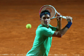 Roger Federer The Internazionali BNL d'Italia: Day 7