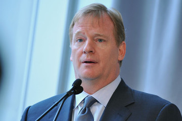 Roger Goodell 2014 New York/New Jersey Super Bowl Host Company Press Conference
