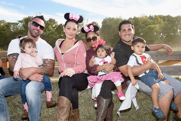 Roger Mathews Nicole Polizzi Hosts a Joint Birthday Party for Her Children Lorenzo and Giovanna