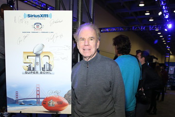 Roger Staubach SiriusXM at Super Bowl 50 Radio Row - Day 2