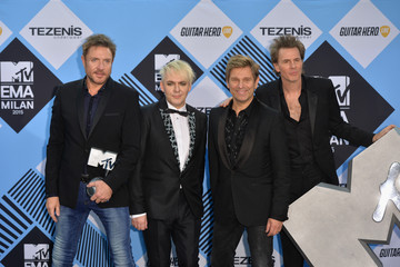 Roger Taylor MTV EMA's 2015 - Winners Room