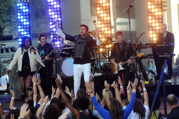 Roger Taylor Duran Duran Perform on NBC's 'Today'