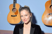Bar Refaeli attends the Day Dream Vivier Press Day during Paris Fashion Week Womenswear Fall/Winter 2019/2020 at Fondation Cino et Simone del Duca on February 28, 2019 in Paris, France.