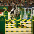 Ludger Beerbaum and Chiara in action during the Rolex Grand Slam of Show Jumping at Palexpo on December 13, 2015 in Geneva, Switzerland.
