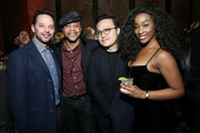 """Nick Kroll, Cuba Gooding Jr, Max Tsai and a guest attend the """"Roma"""" New York Special Screening on November 27, 2018 in New York City."""