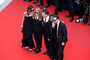 Romain Cogitor Director Mounia Meddour 'Invisible Demons' Red Carpet - The 74th Annual Cannes Film Festival