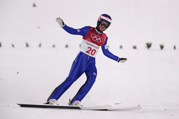 Roman Koudelka Ski Jumping - Winter Olympics Day 8