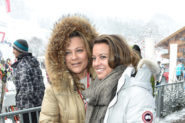 Romana Hinterseer Celebrities at Hahnenkamm Race Weekend