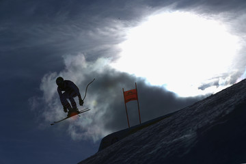 Romed Baumann FIS World Ski Championships - Men's Combined Downhill Training