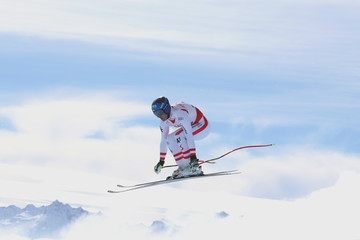 Romed Baumann FIS World Ski Championships - Men's and Women's Downhill Training