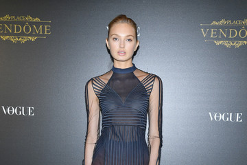 Romee Strijd Irving Penn Exhibition Private Viewing Hosted by Vogue - Paris Fashion Week Womenswear S/S 2018
