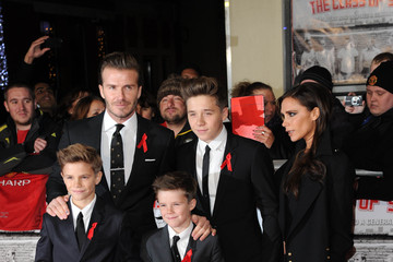 Romeo Beckham 'The Class of 92' Premieres in London