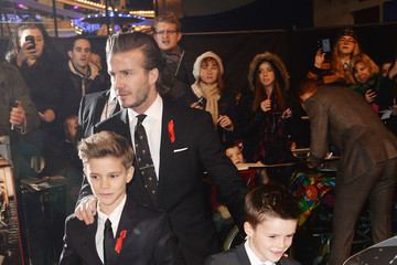 Romeo Beckham 'The Class of 92' Premieres in London — Part 2