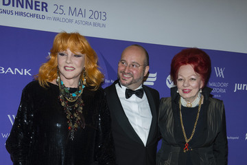 Romy Haag Arrivals at a Berlin Charity Dinner