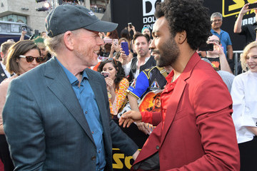Ron Howard Donald Glover Stars And Filmmakers Attend The World Premiere Of 'Solo: A Star Wars Story' In Hollywood