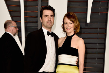 Ron Livingston Arrivals at the Elton John AIDS Foundation Oscars Viewing Party — Part 5