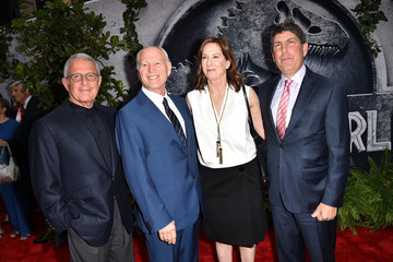 Ron Meyer Jeff Shell Premiere of Universal Pictures' 'Jurassic World' - Red Carpet