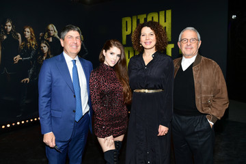 Ron Meyer Jeff Shell Premiere of Universal Pictures' 'Pitch Perfect 3' - Red Carpet