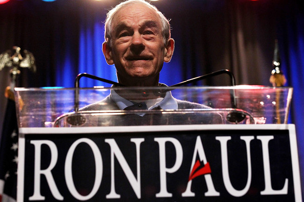Ron Paul Campaigns In Nevada
