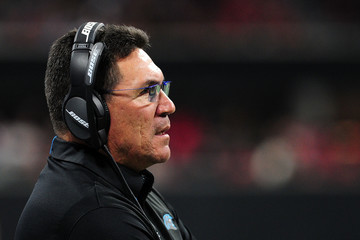 Ron Rivera Carolina Panthers v Atlanta Falcons