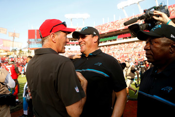 Ron Rivera Carolina Panthers v Tampa Bay Buccaneers