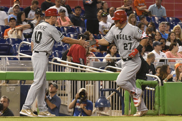 Ron Roenicke Los Angeles Angels of Anaheim v Miami Marlins