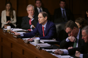 Ron Wyden Senate Intelligence Committee Holds Hearing On Election Security