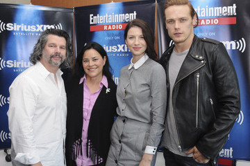 Ronald D. Moore Caitriona Balfe SiriusXM's Entertainment Weekly Radio Channel Broadcasts From Comic-Con 2015