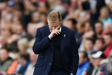 Ronald Koeman Swansea City v Everton - Premier League