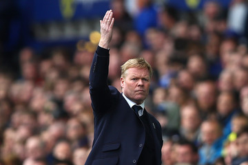 Ronald Koeman Everton v Chelsea - Premier League