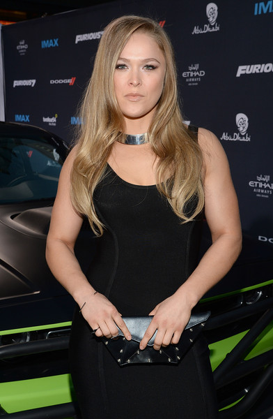 Ronda Rousey - 'Furious 7' Los Angeles Premiere