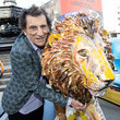 Ronnie Wood The Tusk Lion Trail Launch