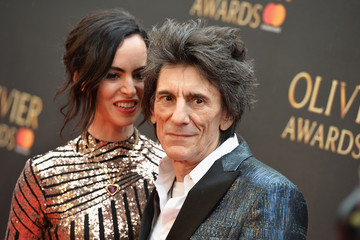 Ronnie Wood The Olivier Awards With Mastercard - VIP Arrivals