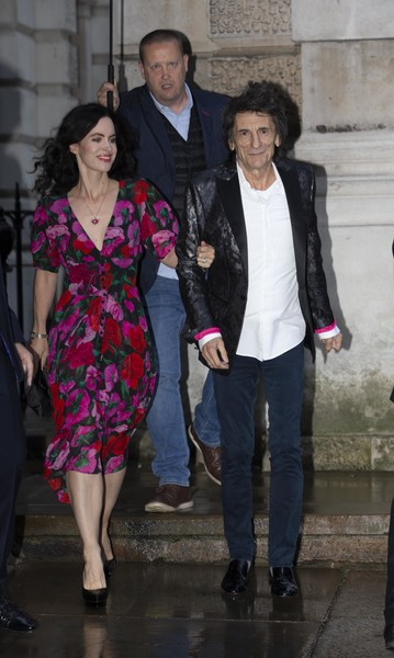 Ronnie Wood and Sally Humphreys Photos - 1 of 401