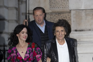 Ronnie Wood The Duchess Of Cambridge Attends Addiction Awareness Week Gala Dinner