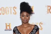 """Emayatzy Corinealdi attends the """"Roots"""" night one screening at Alice Tully Hall, Lincoln Center on May 23, 2016 in New York City."""