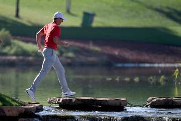 Rory McIlroy DP World Tour Championship - Day Two