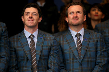 Rory McIlroy Graeme McDowell 40th Ryder Cup Opening Ceremony