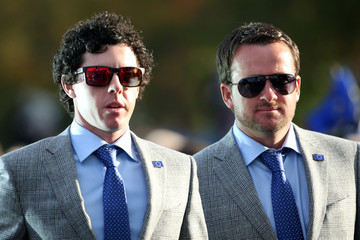 Rory McIlroy Graeme McDowell 39th Ryder Cup Opening Ceremony