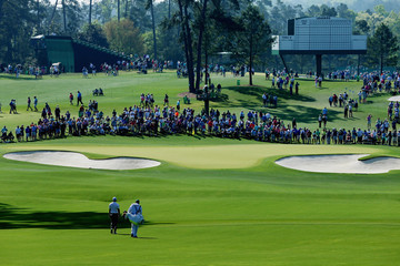 Rory McIlroy J-p Fitzgerald The Masters - Preview Day 3