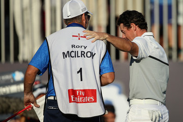 Rory McIlroy J-p Fitzgerald DP World Tour Championship - Day Four